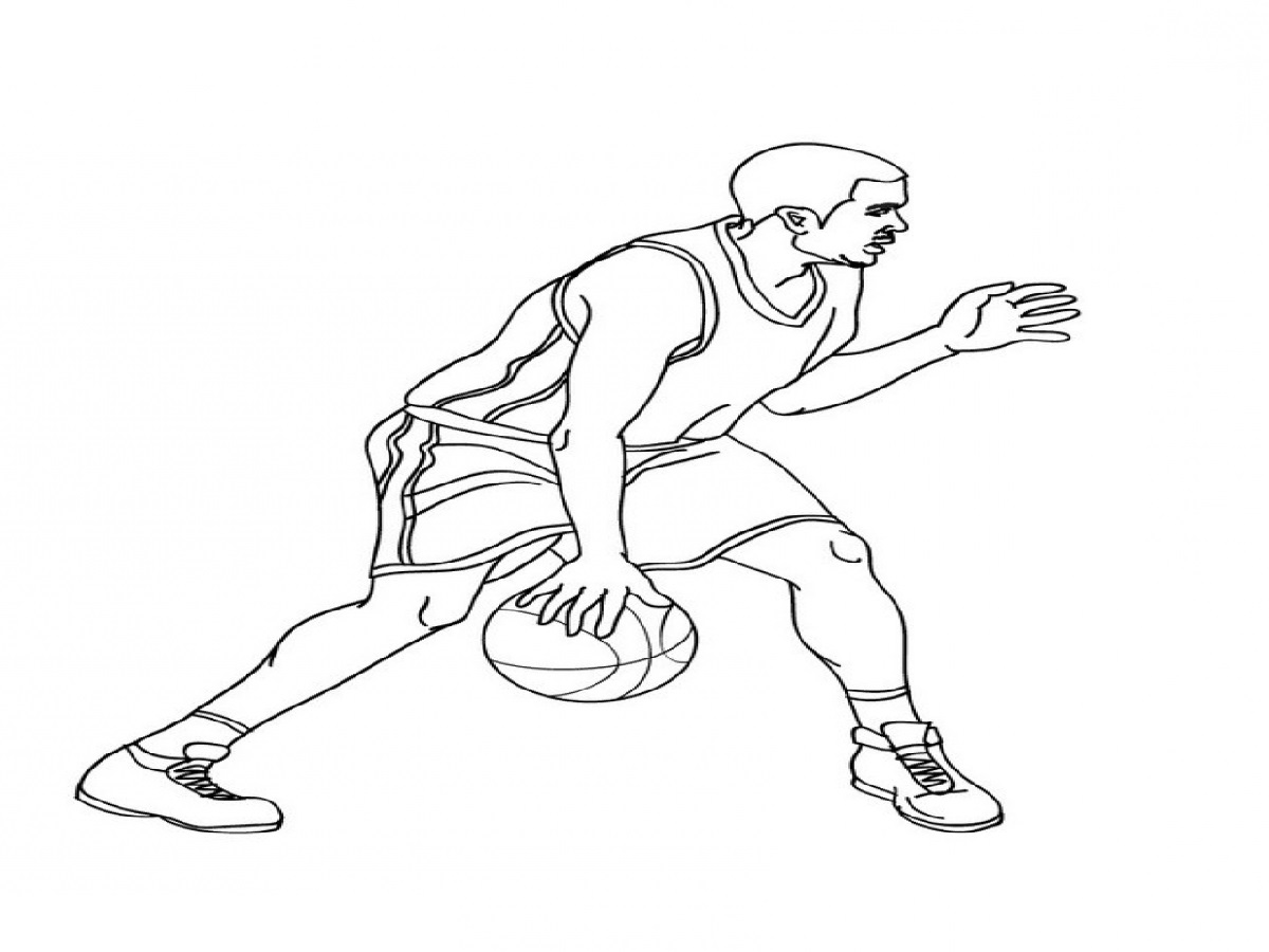 Lebron James Coloring Pages For Young Generations Educative Printable