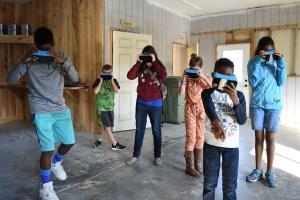 S.C. Military Kids in VR