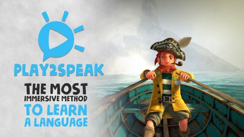 Play2Speak logo.