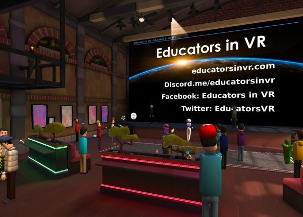 Educators in VR Event in AltspaceVR