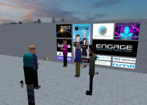 Educators in VR Social Event.