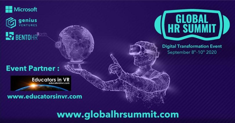 Global HR Summit Banner