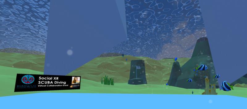 Educators in VR Rental World - EDVR Underwater 2