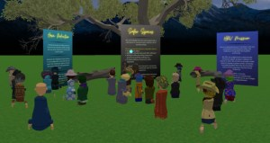 Cyberbullying Meetup with Erica Siegal in AltspaceVR.