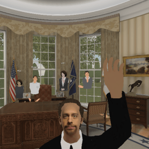 ENGAGE VR - Exploring US Whitehouse with Gold Lotus