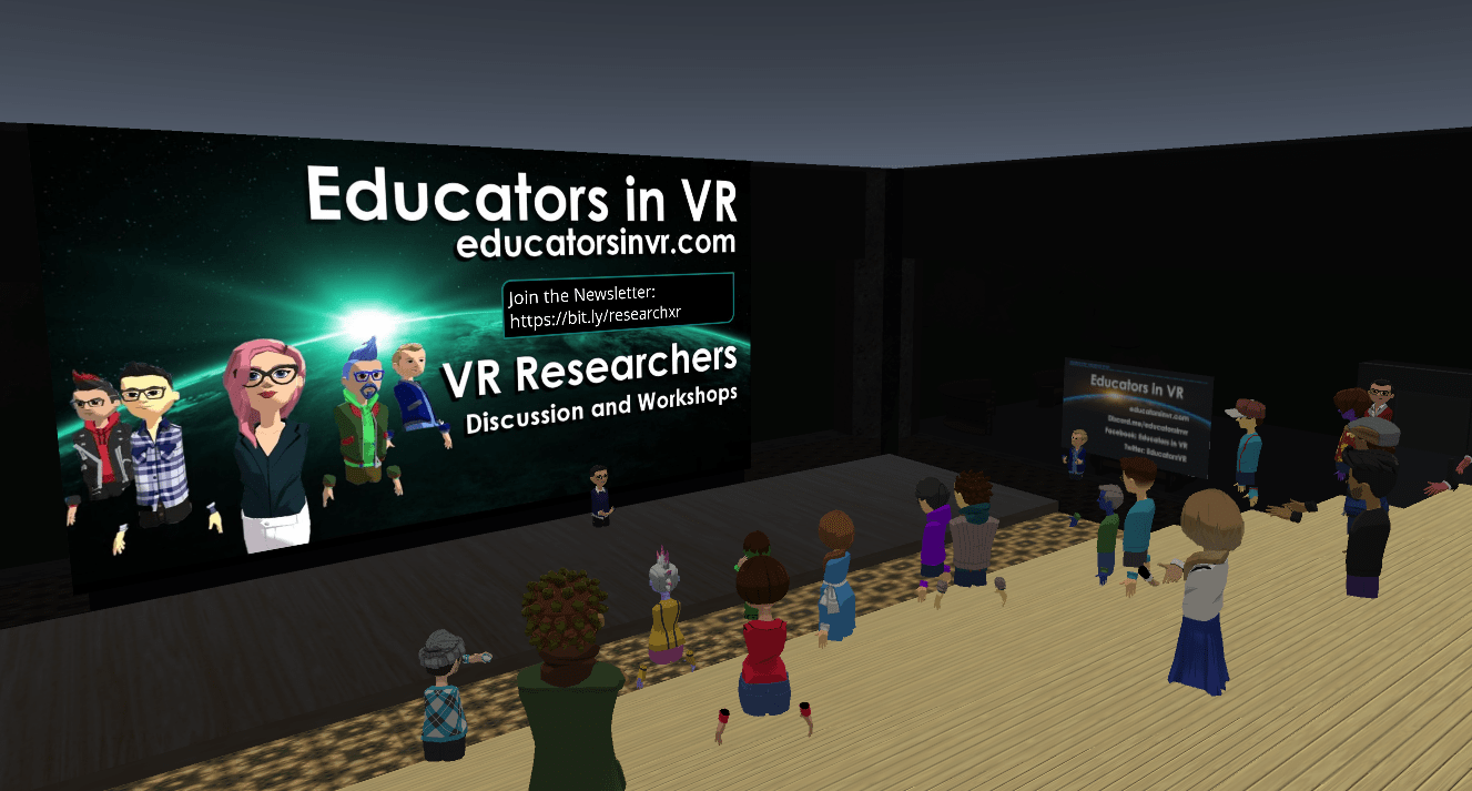 Educators in VR VR Research Team Project Meetup.