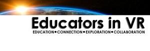 Educators in VR logo.
