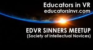 EDVR Sinners Meetup graphic.