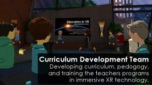 Educators in VR Curriculum Development Team.
