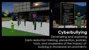 Educators in VR Cyberbullying Team