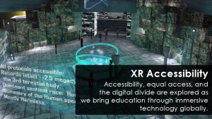 Educators in VR XR Accessibility Team Project.