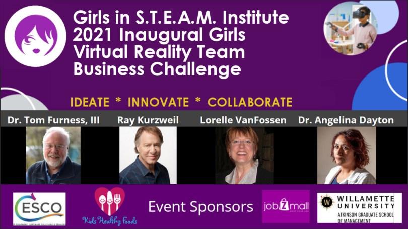 Event Image Event Sponsors Speakers - Girls in STEAM Institute 2021