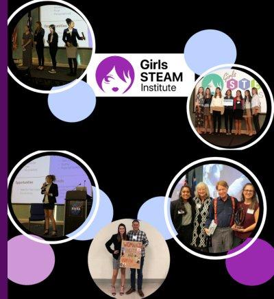 Event Image Institute images - Girls in STEAM Institute 2021