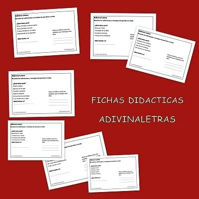 Fichas didácticas