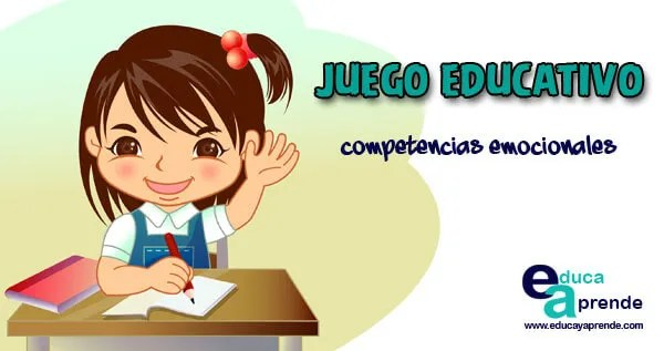 competencias emocionales, juegos educativos, actividades educativas, dinámicas educativas