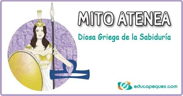 mito atenea, diosa griega de la sabiduria