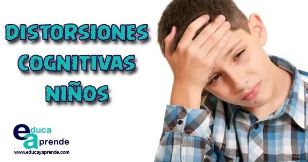 Distorsiones cognitivas, Distorsiones cognitivas en niños