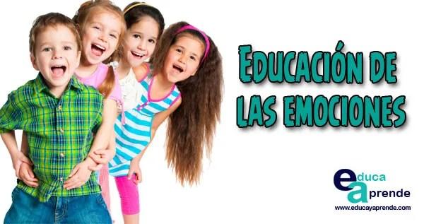 Educación de las emociones