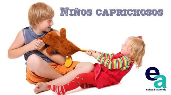 niño caprichoso, como tratar a un niño caprichoso, Como educar a un niño caprichoso