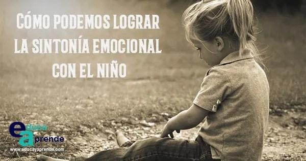 sintonía emocional niños