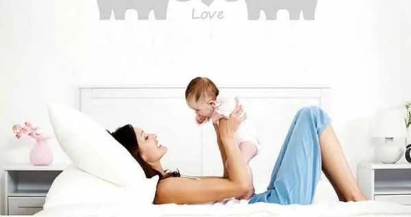 cuna del bebé