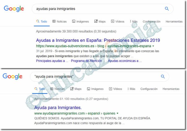 busquedas efectivas en google con el operador literalidad