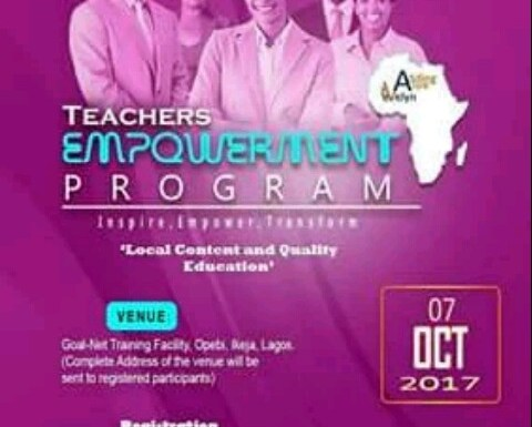 Teachers invited to attend the AVwE Teachers Empowerment​ Program