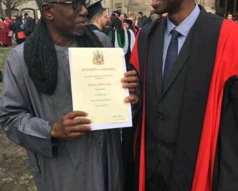 Criticisms trail NUC boss' son's graduation from UK university