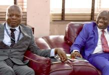 Chancellor of Dominion University Ibadan with the Vice-Chancellor of the University of Ibadan