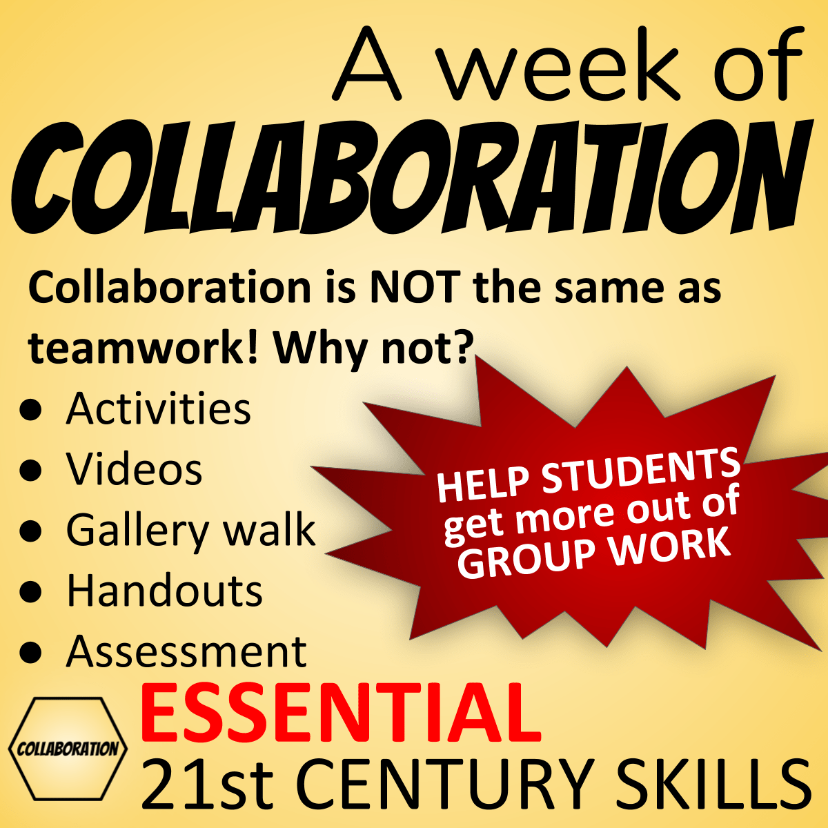 Collaboration Skills Lesson Plans Teach Collaborative