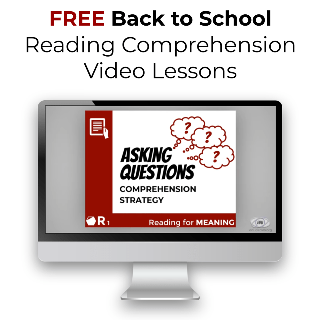 FREE Back to School Reading Comprehension Video Lessons