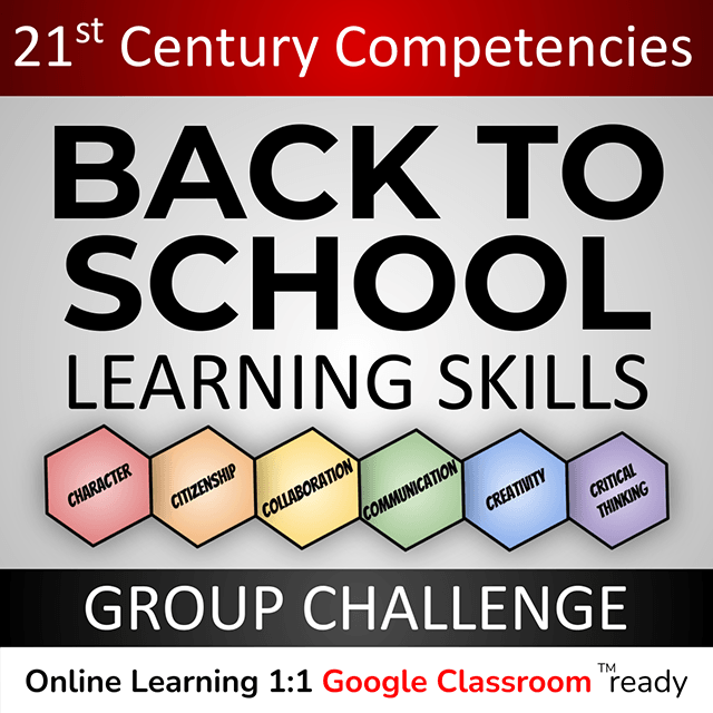 Back to School Learning Skills Group Challenge: 21st Century Compentencies cover