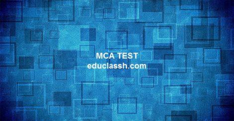 MCA SET 1