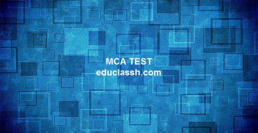 MCA SET 2