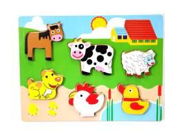 #136 Chuncky puzzles farm