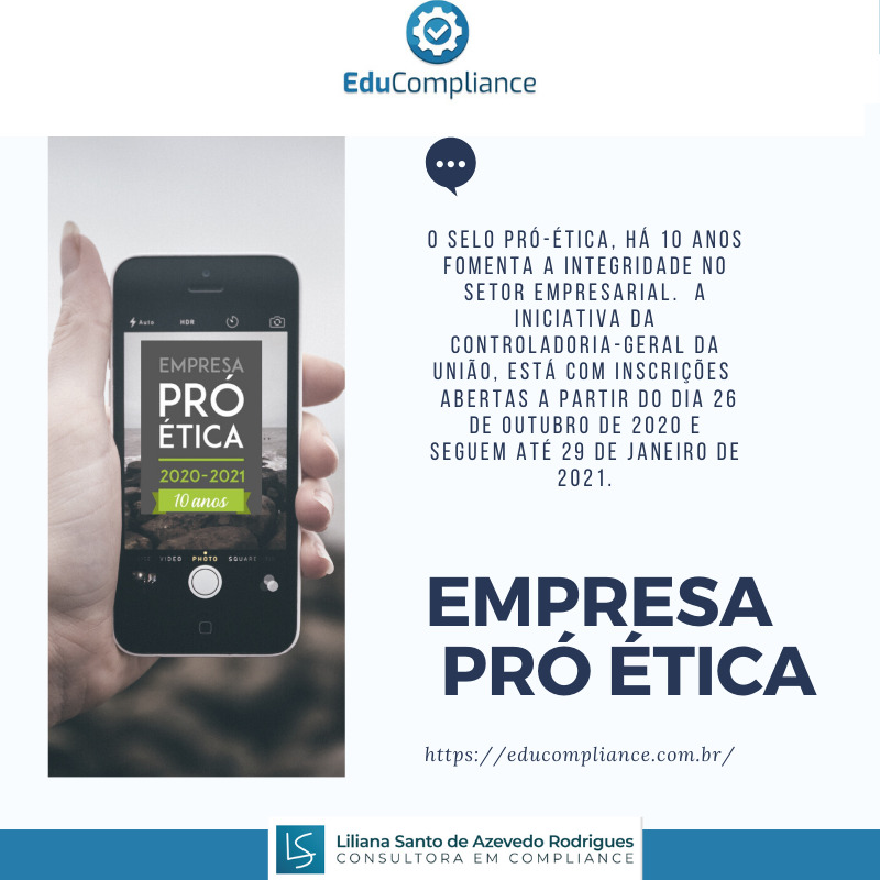 Selo Pró-Ética - EduCompliance