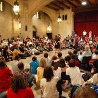 Lyes et Cindy nous ont parlé du « Théâtre forum, vecteur d'émancipation – historique et pratiques ».