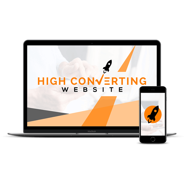 High Converting Website