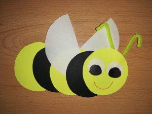 Pszczoła – praca plastyczna