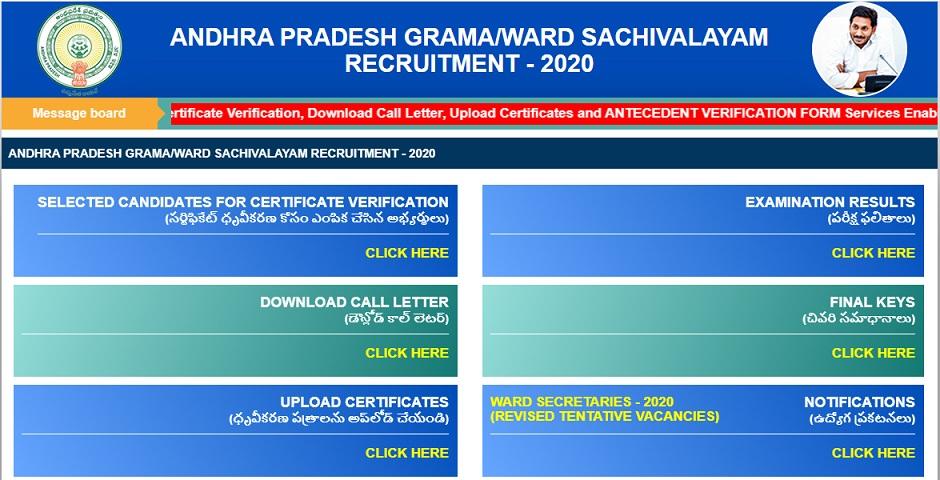 Grama Sachivalayam Syllabus