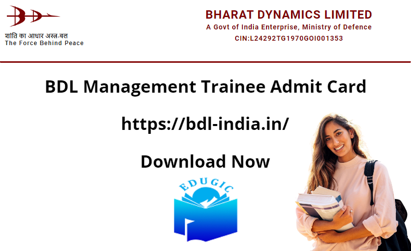 BDL Management Trainee Admit Card 2021