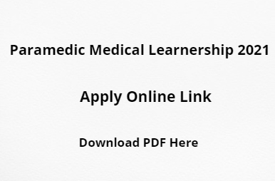 Paramedic Learnership