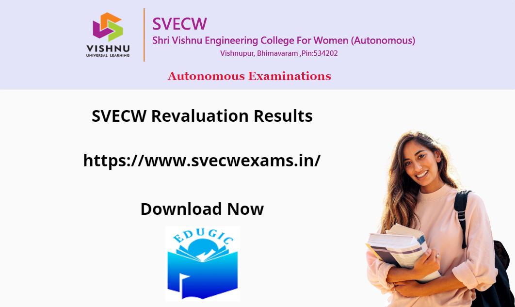 SVECW Revaluation Results 2021