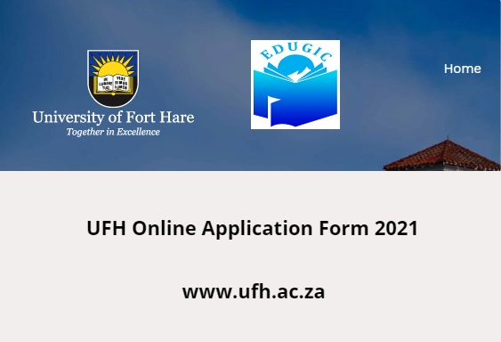 UFH Online Application Form 2021