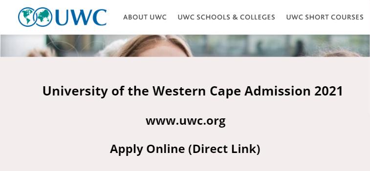 UWC Application Form 2022