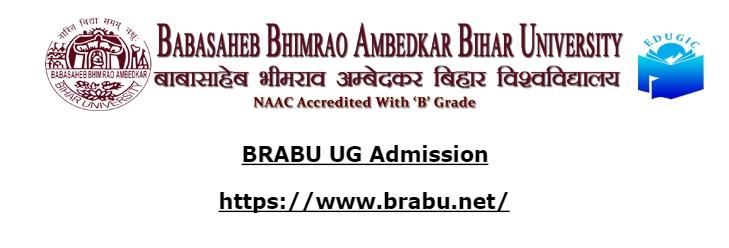 BRABU UG Admission
