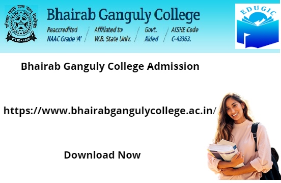 Bhairab Ganguly College Admission 2021-22