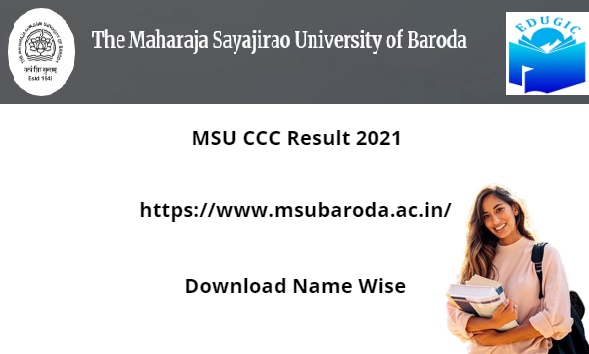 MSU CCC Result 2021