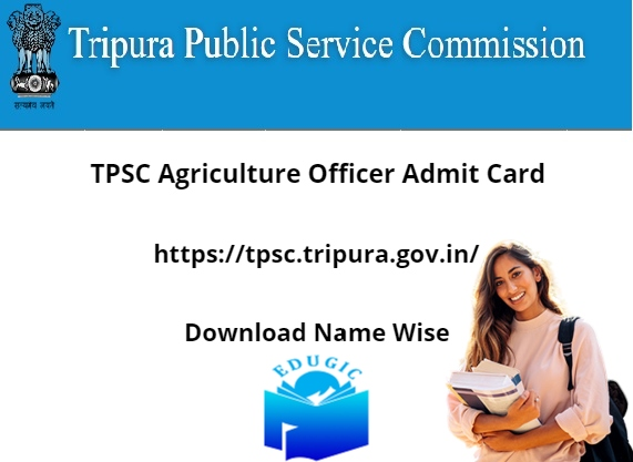 TPSC Agriculture Officer Admit Card 2021