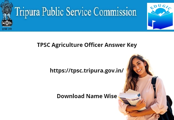 TPSC Agriculture Officer Answer Key 2021